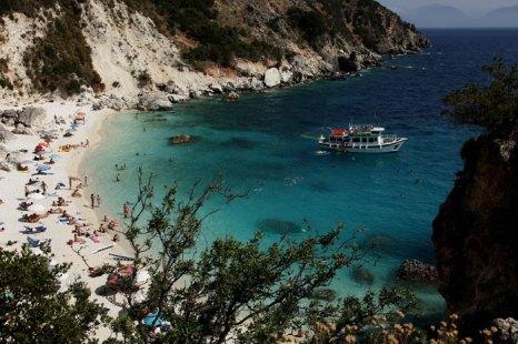 Василика, Греция. Фото: Sean Gallup/Getty Images