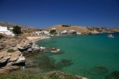 Наксос — остров в Эгейском море, Греция. Входит в группу островов Киклады. Самый большой остров архипелага. Фото: Smtunli/commons.wikimedia.org