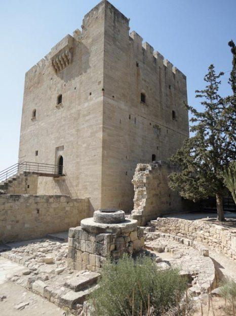 Замок Колосси — средневековый замок на южном берегу Кипра. Фото: OCULUS/commons.wikimedia.org