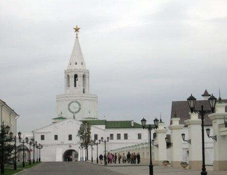 Улица Баумана берет свое начало от Казанского Кремля, а заканчивается площадью Тукая. Фото: Великая Эпоха (The Epoch Times)