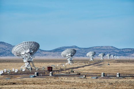 Very Large Array (VLA) - одна из ведущих астрономических радиообсерваторий в мире. фото: John Fowler/commons.wikimedia.org