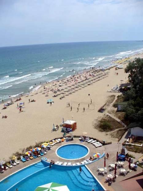 Албена является одним из основных Черноморский курорт в северо-восточной Болгарии. фото:Oneagoe/commons.wikimedia.org