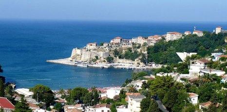 Панорама города Улцинь в Черногории. Фото: Dudva/commons.wikimedia.org