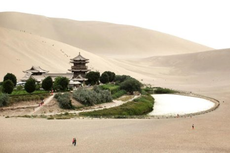 Цзюцюань, Китай. фото: Feng Li/Getty Images