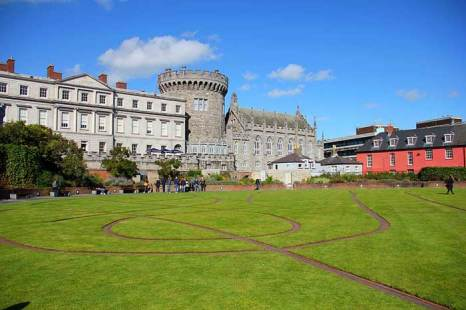 Дублинский замок. Фото: J.-H./commons.wikimedia.org