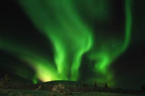 Северное сияние в Финляндии. фото: leocheung/Flickr