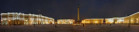 Дворцовая площадь Санкт-Петербурга. Фото: Айвенго/commons.wikimedia.org