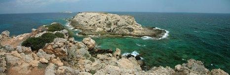 Мыс Апостола Андрея — крайняя северо-восточная точка острова Кипр. Фото: Anna Anichkova/commons.wikimedia.org