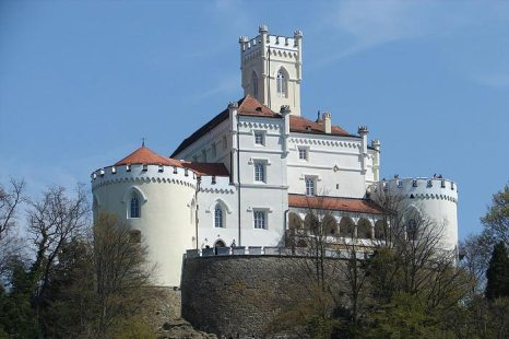 Тракошчан — замок на северо-западе Хорватии, в Вараждинской жупании. Фото:  Maxman/commons.wikimedia.org