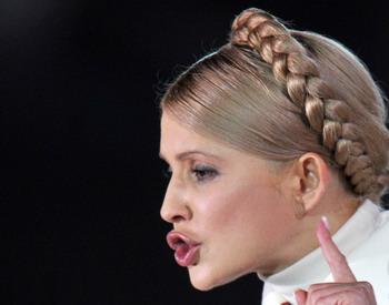 Тимошенко любит Одноклассников. Фото: SERGEI SUPINSKY/AFP/Getty Images