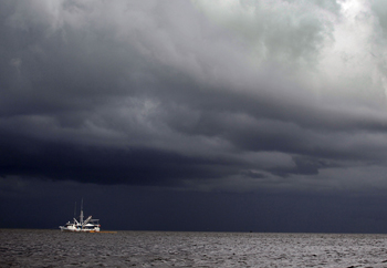 Тропический ураган «Алекс». Фото: Joe Raedle /Getty Images