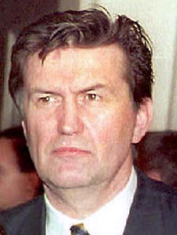 В Лондоне арестовали бывшего вице-президента Боснии Эюпа Ганича. Фото: AFP /Getty Images