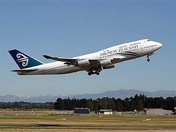 Самолет Air New Zealand. Фото с mkiwi.com