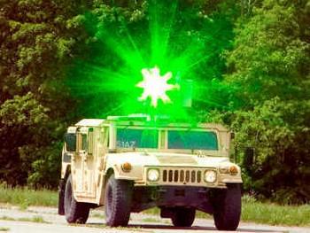 GLEF, установленный на турель CROWS на Humvee. Фото с army.mil