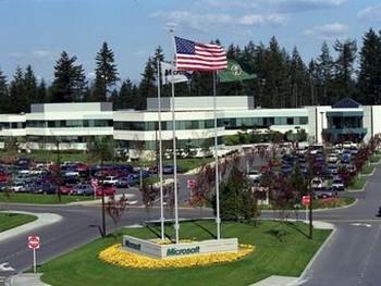 Научный городок Microsoft в Редмонде. Фото с сайта компании