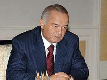 Ислам Каримов. Фото с gov.uz