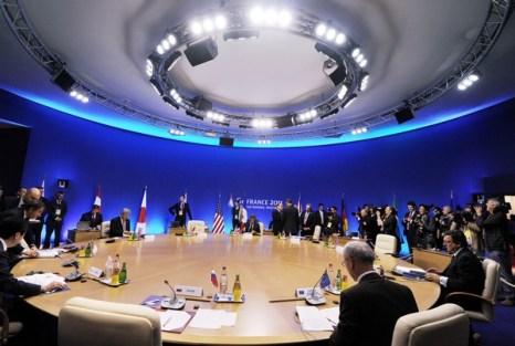 фото Саммит G8 во франции. Фото: Jeff J Mitchell/Getty Images
