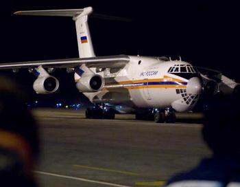 Два самолёта МЧС приземлились в Чили. Фото:  ADALBERTO ROQUE/Staff/Getty Images News