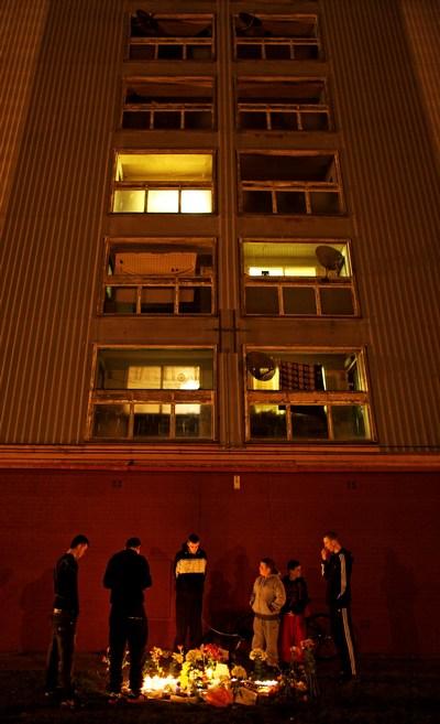 Самоубийства россиян в Глазго стали причиной акций протеста. Фоторепортаж. Фото: Jeff J Mitchell/Getty Images