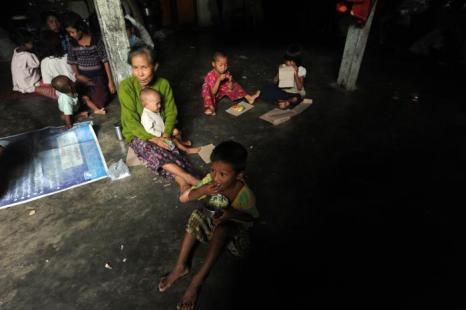 Буддисты Ракхайн лишились жилья в результате религиозного конфликта. Фото: STR/AFP/GettyImages