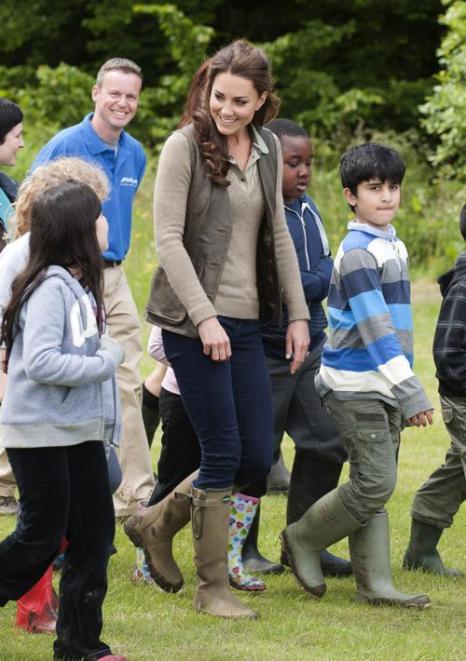 Екатерина, герцогиня Кембриджская, посетила школьный лагерь в графстве Кент. Фоторепортаж. Фото:  David Parker - WPA Pool / Getty Images