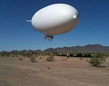 Дирижабль поможет собирать нефть в Мексиканском заливе. Фото с сайта lenta.ru
