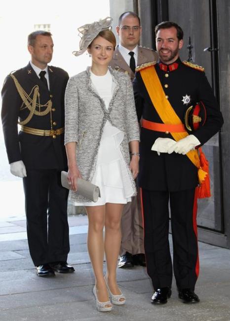 Крестины шведской принцессы Эстель.  Наследные принц и принцесса Бельгии  Филипп и  Матильда. Фоторепортаж. Фото: Chris Jackson/Getty Images