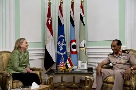 Госсекретарь США Хилари Клинтон в Каире, 15 июля 2012 г. Фото: BRENDAN SMIALOWSKI/AFP/GettyImages