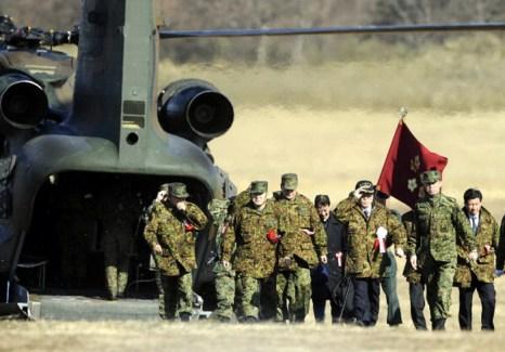 Японская армия. Фото: TOSHIFUMI KITAMURA/AFP/Getty Images