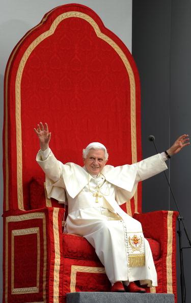 Папа Римский в Британии Фото:Ben Stansall - WPA Pool/Getty Images
