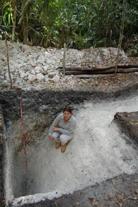 Один из каналов для воды, выстроенных майя. Фото: University of Cincinnati researchers