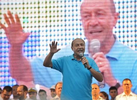 Траян Бэсеску  (Traian Basescu). Фото: DANIEL MIHAILESCU/AFP/GettyImages