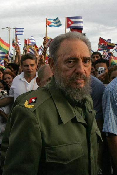 Фидель Кастро перед уходом из политики. Фото: Jorge Rey/Getty Images