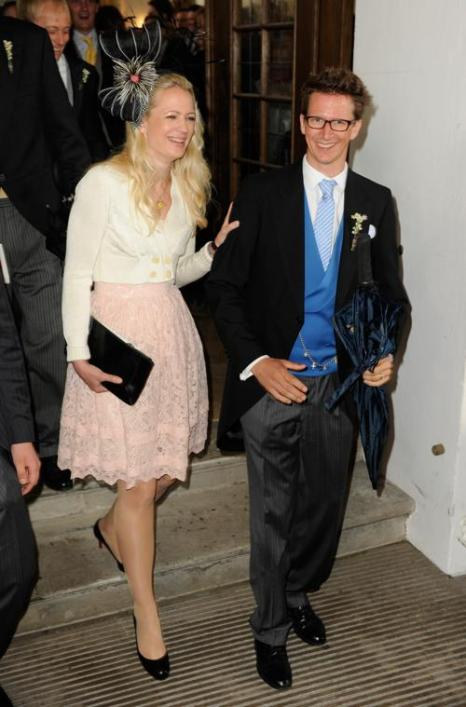 Гости  на свадьбе принцессы  Фелипы фон Бавария. Prince Manuel von Bayern and Princess Anna von Bayern. Фоторепортаж. Фото: Hannes Magerstaedt/Getty Images