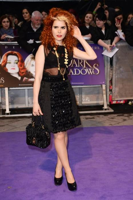 Знаменитости на британской премьере фильма «Мрачные тени» (Dark Shadows) 9 мая в Лондоне. Палома Фэйт (Paloma Faith). Фоторепортаж. Фото: Ian Gavan/Getty Images