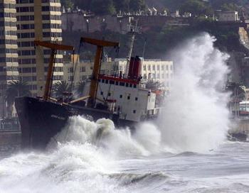 Землетрясение в Чили. Фото: Cristian Opazo/AFP/Getty Images