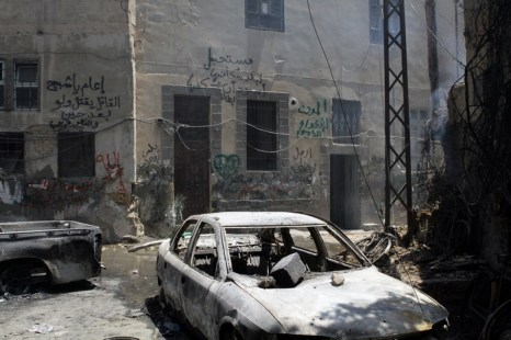 Район аль-Мидан в Дамаске после «освобождения» 20 июля 2012 г. Фото: LOUAI BESHARA/AFP/GettyImages