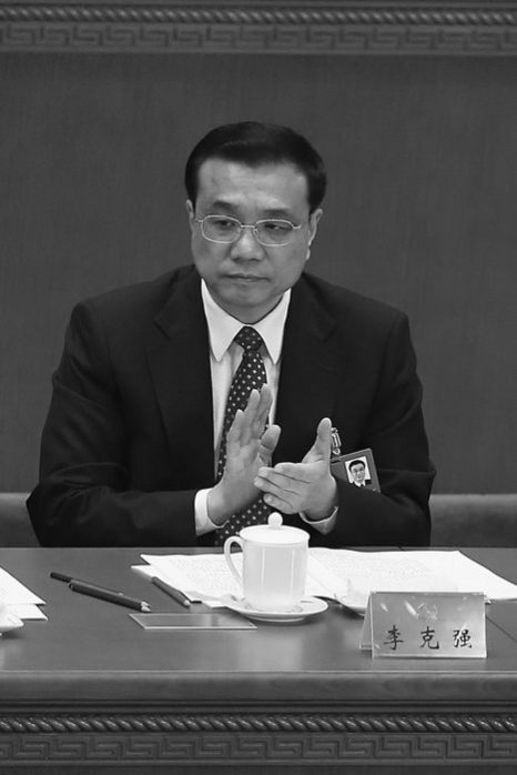 Ли Кэцян на открытии XVIII национального съезда китайской коммунистической партии 8 ноября. Фото: Lintao Zhang/Getty Images