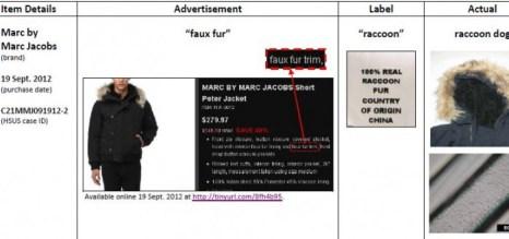 Пример одного из вводящих в заблуждение рекламных объявлений. Скриншот сайта The Humane Society