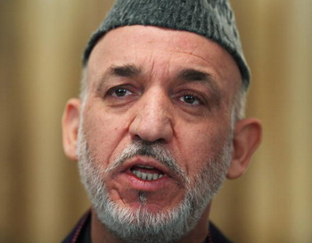Президент Афганистана Хамид Карзай. Фото: Majid Saeedi/Getty Images
