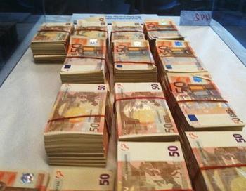 Фальшивые евро. Фото с сайта ndr.de
