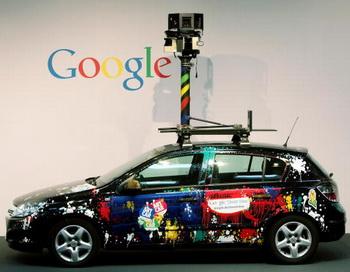Передвижная панорамная камера Google Street View. Фото: Sean Gallup/Getty Images