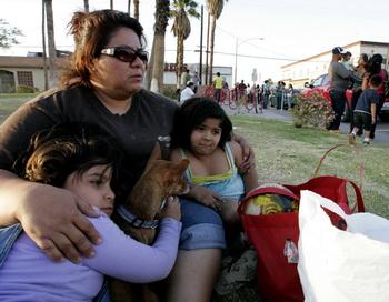 Землетрясение магнитудой 7,2 произошло на границе США и Мексики. Фото: Sandy Huffaker/Getty Images