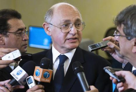 Министр иностранных дел Аргентины Эктор Тимерман. Фото: OMAR TORRES/AFP/GettyImages