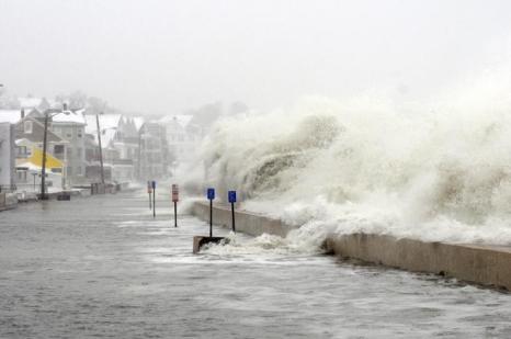 Стихия в Новой Англии. Фото: Darren McCollester/Getty Images