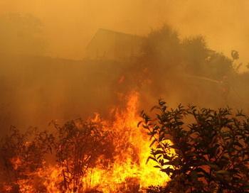 Пожар. Фото: STEPHAN AGOSTINI/AFP/Getty Images