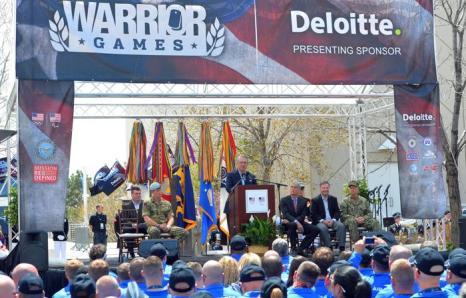 Принц Гарри открыл военные игры в Колорадо. Фото: John Stillwell - Pool/Getty Images