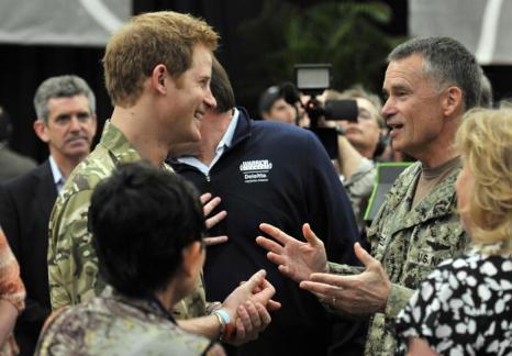 Принц Гарри открыл военные игры в Колорадо. Фото: Bruce Adams - Pool/Getty Images