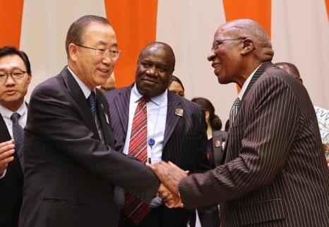 Международный день Нельсона Манделы отметили в генеральной ассамблее ООН 18 июля 2013 года, когда легендарному борцу с апартеидом исполнилось 95 лет. Фото: Mario Tama/Getty Images