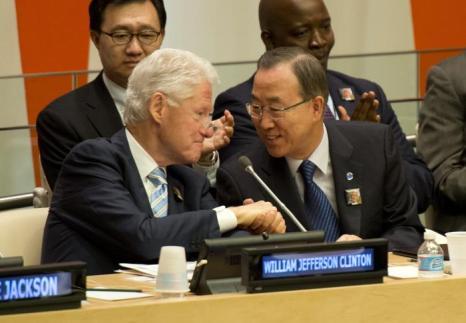 Международный день Нельсона Манделы отметили в генеральной ассамблее ООН 18 июля 2013 года, когда легендарному борцу с апартеидом исполнилось 95 лет. Фото: DON EMMERT/AFP/Getty Images